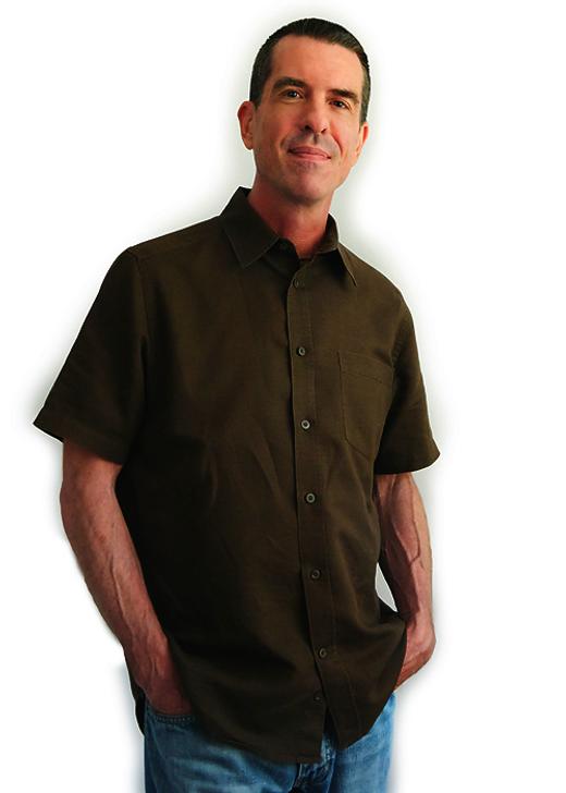 Brad Boney, author of quality gay fiction. Photo by Tricia Dunlap.