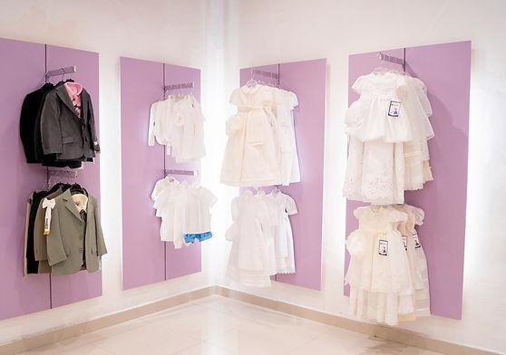 Visual Merchandising Tienda de ropa para niños
