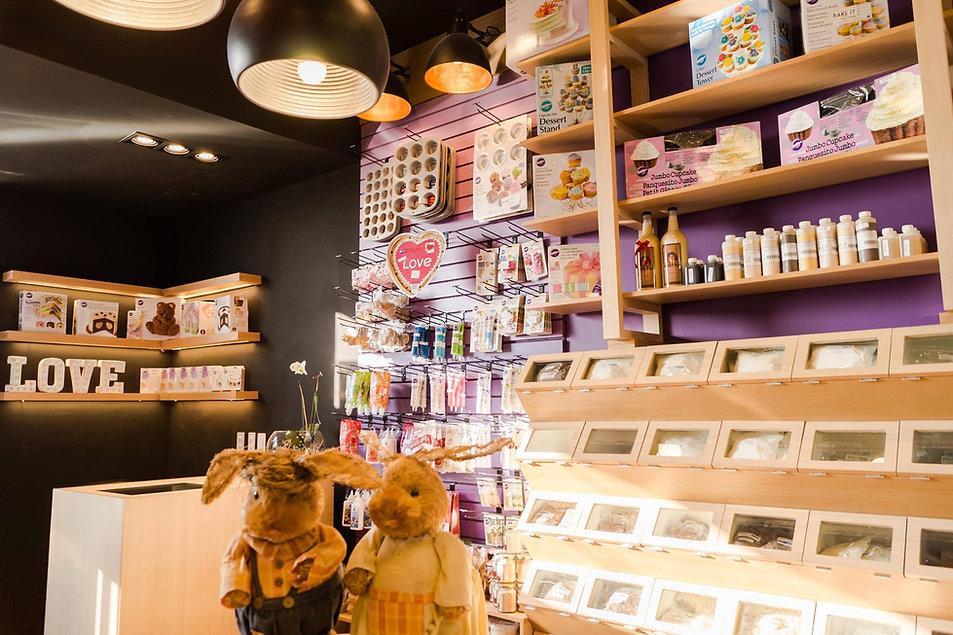 Retail, Diseño por Mono Studio,  tienda de materias primas, distribuidor Wilton