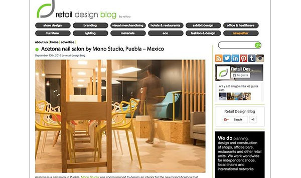 En Retail design blog con Jorch Salgado.