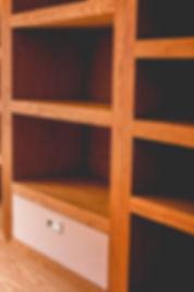 Mueble de encino acabado Rubio Monocoat