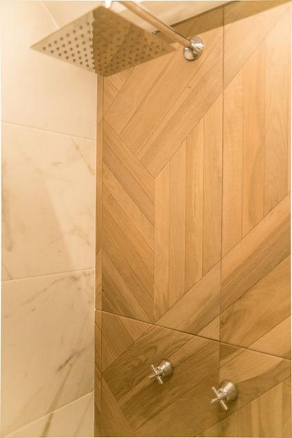 Diseño de baño, regadera