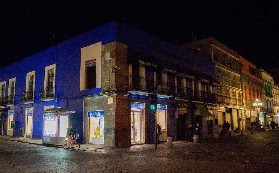 Fachada centro histórico de Puebla, Marikarli