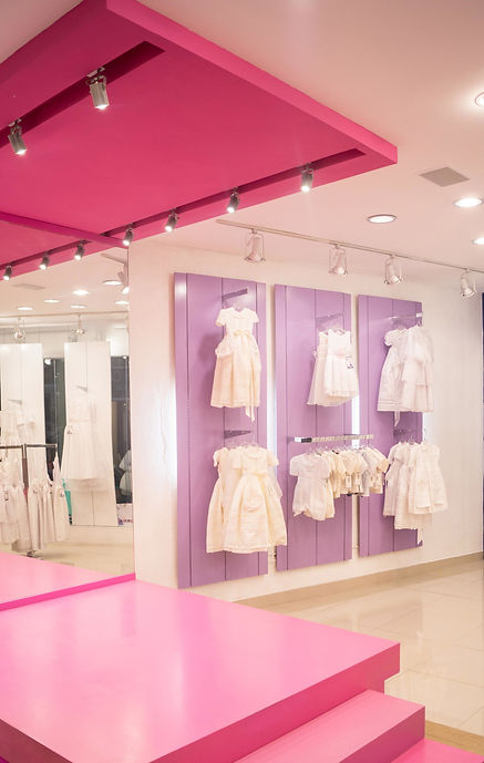 Interior tienda de ropa, visual merchandising