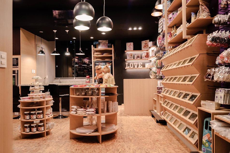 Retail, tienda de materias primas, distribuidor Wilton