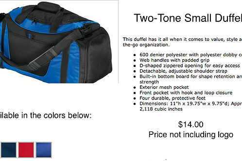 Two-Tone Small Bag