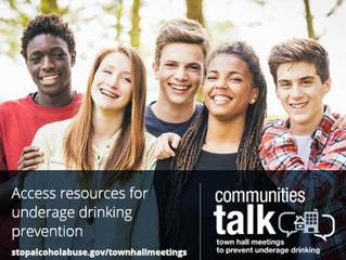 SAMHSA Communities Talk: Town Hall Meeting to Prevent Underage Drinking