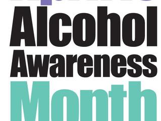 April is Alcohol Awareness Month!