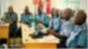 Juba 1 SS Police participants at table.jpg