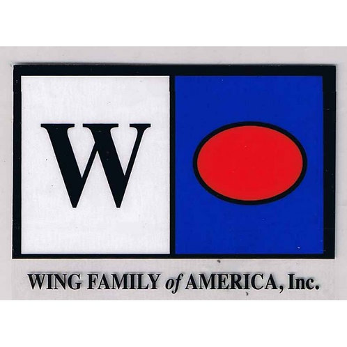 Wing Flag Decal