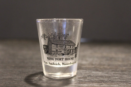 Wing Fort House Shot Glass