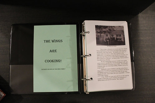 The Wings are Cooking