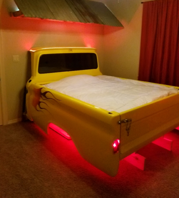 Custom LED Bed Lighting
