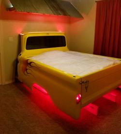 Custom LED Bed Lighting