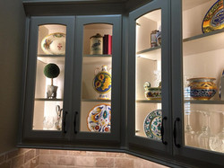 Inside Accent Cabinet Lighting