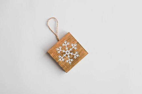Boule de Noël - Flocon flèches