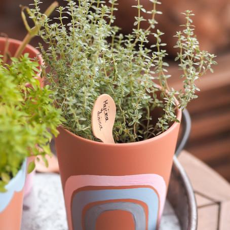 DIY tegle za cvijeće i balkonski kutak