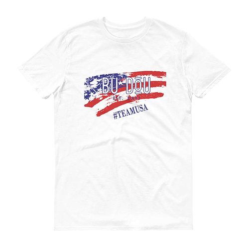 BU DOU USA Short-Sleeve T-Shirt