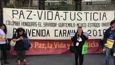 """Marcha de los países de América Latina """"UNGASS una caravana por la paz y la vida"""""""