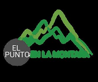 El punto en la montaña logo