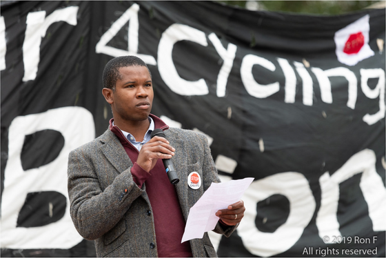 Speech at National Funeral for the Unknown Cyclist 2019