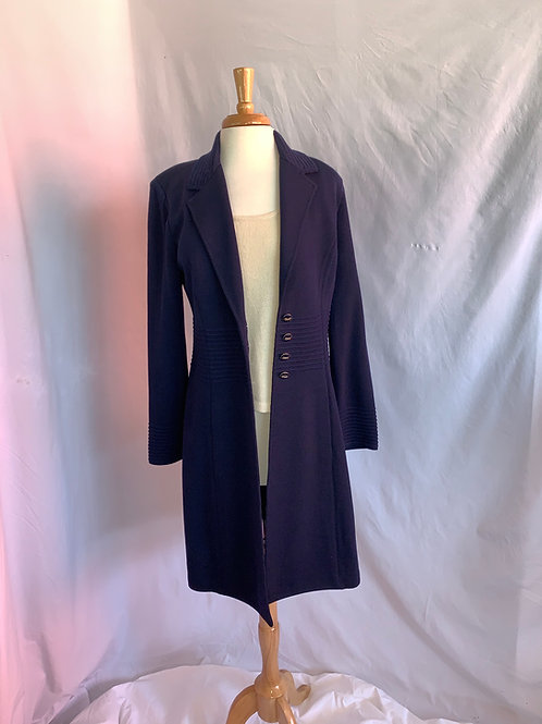 St. John Collection Sz 10 NEW w/TAG Jacket (Navy Blue)