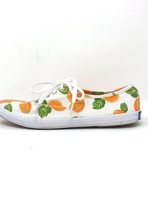 Ked's Orange Slice Sneakers - Sz 7.5