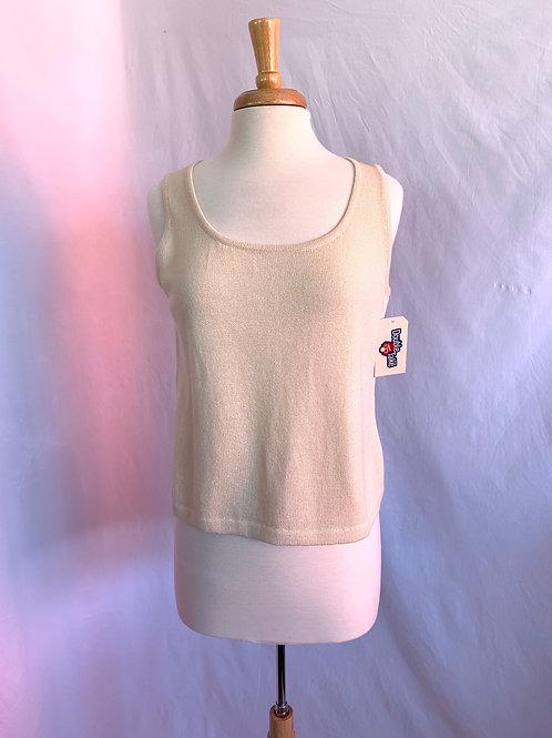 St. John Collection Santana Knit Contour Tank -- Sz S*
