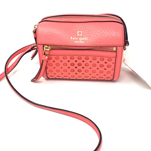 Kate Spade Perri Lane Peony Leather Crossbody Bag