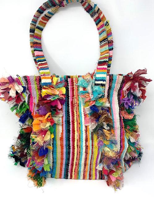 Colorful Cloth Shoulder Tote