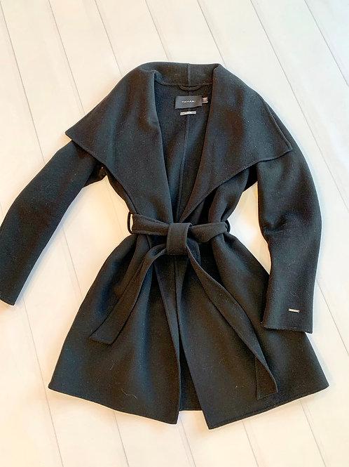 Tahari Ella Wrap Coat-Sz Medium