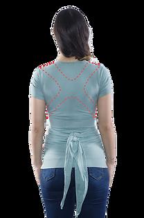 Espalda reforzada de la camiseta Quokkababy