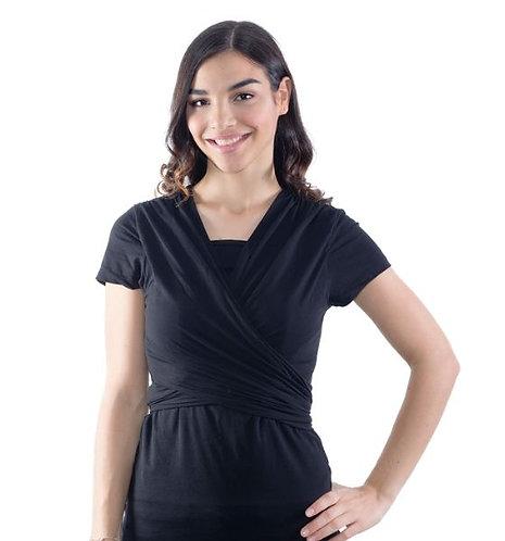 Camiseta Portabebé Negra