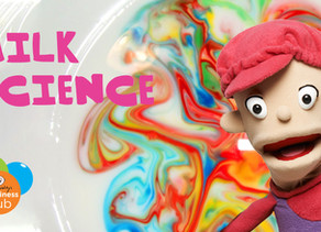 Magic Milk Science Experiment For Kids - With Kylie The Camp Quality Puppet