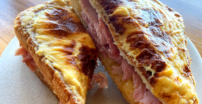 The ULTIMATE Father's Day Cheese and Ham Sandwich Recipe