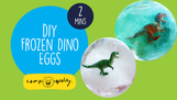 How To Make Easy Dinosaur Eggs - With Kylie The Camp Quality Puppet