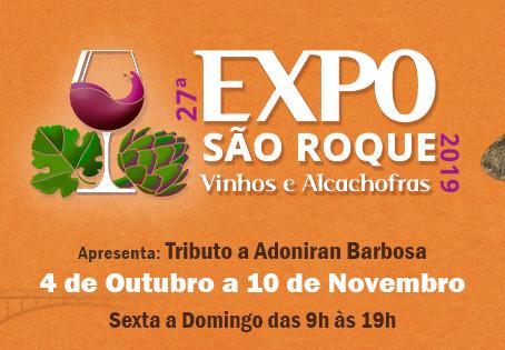 Adoniran Barbosa será o tema da Expo São Roque 2019