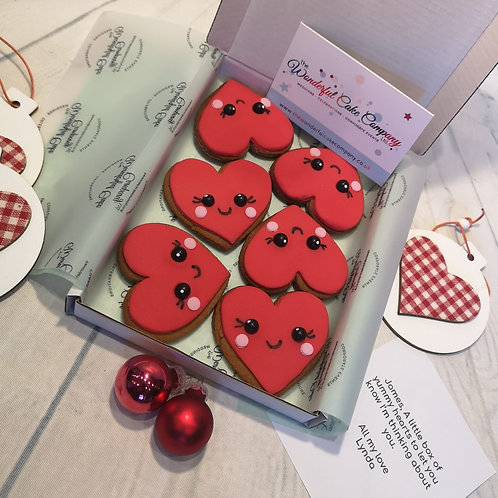Gingerbread Love Hearts