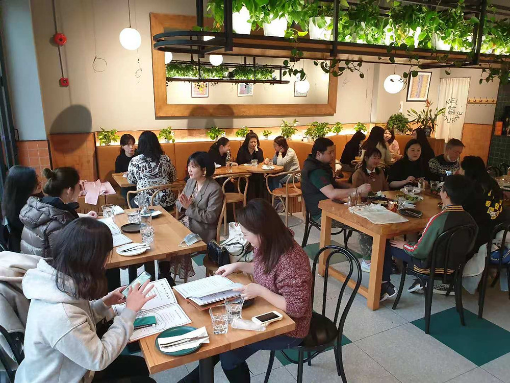 Melbourne Restaurant - just 5-minutes walk to Jing'an Temple, downtown Shanghai