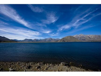 Lake Heron, Mid Canterbury, New Zealand