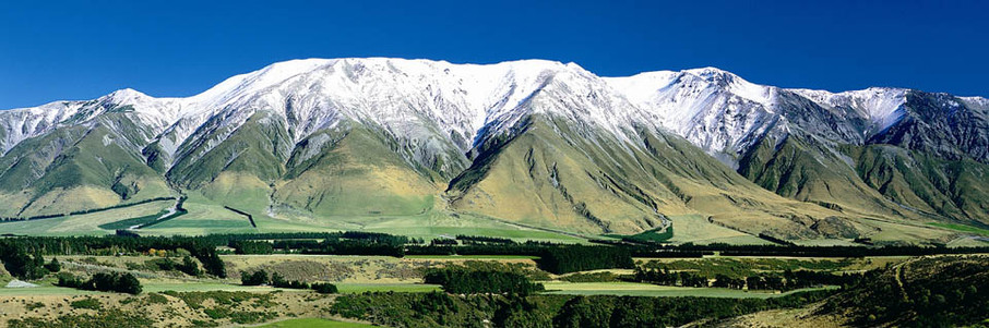 Mid Canterbury, South Island, New Zealand