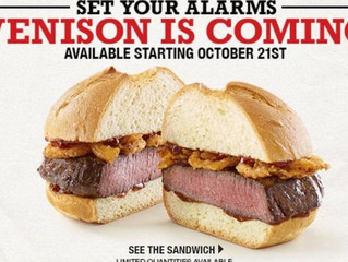 Viral NZ Venison Sandwich Back In US At Arby's