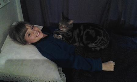 Tammy with a BodyTalk client :)