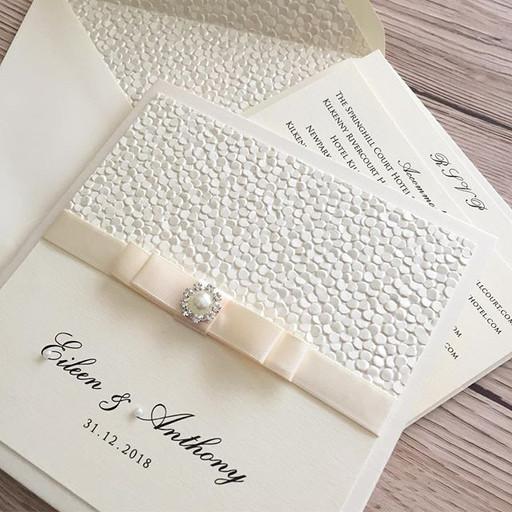A pocketfold invitation sample I created