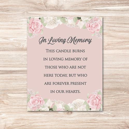 In Loving Memory - 10in x 8in print
