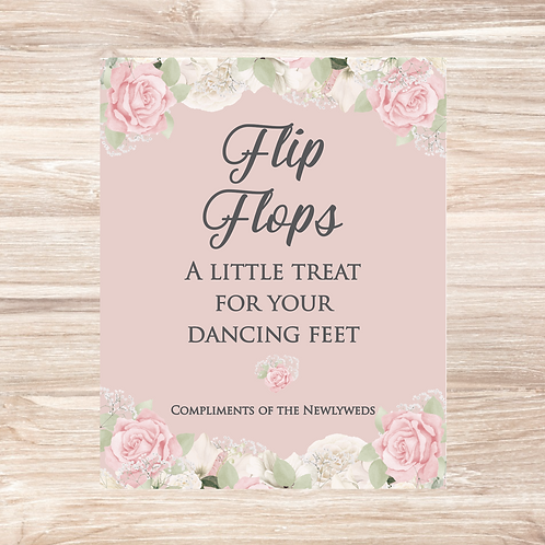 Flip Flops - 10in x 8in print