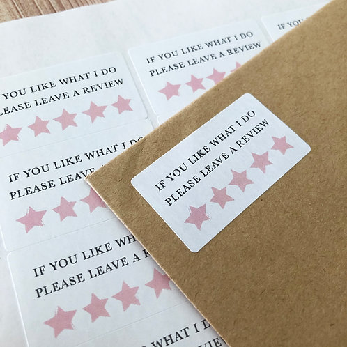 Review Stickers