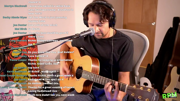 Live Stream Performance, Image: Richie Phillips