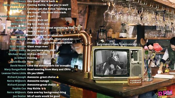 Live Stream Bar Scene, Image: Raychan