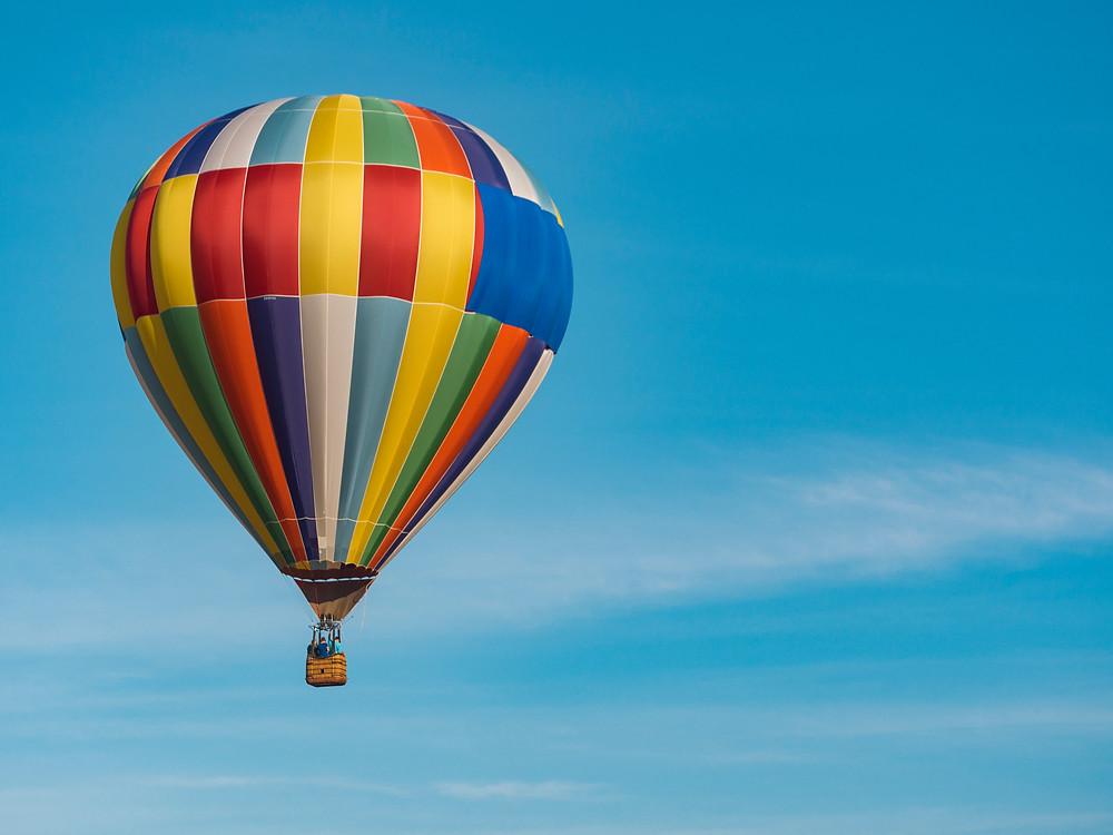 Thanks to Aaron Burden.  Sheela Hobden www.bluegreencoaching.com Image of hot air balloon